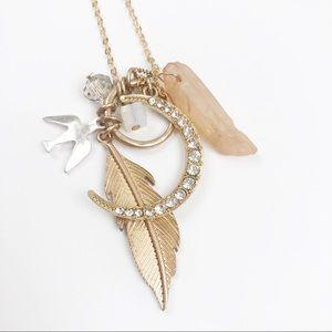ANTHROPOLOGIE l Boho Charm Necklace